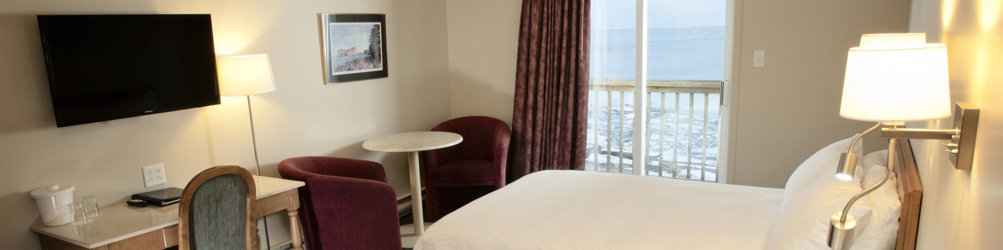 Chambre régulière, Pavillon sur mer
