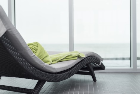 Relaxation chair, sea view