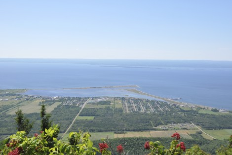 Landscape, Gaspé Peninsula