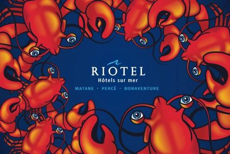 Riôtel, Hôtels sur mer, Homard