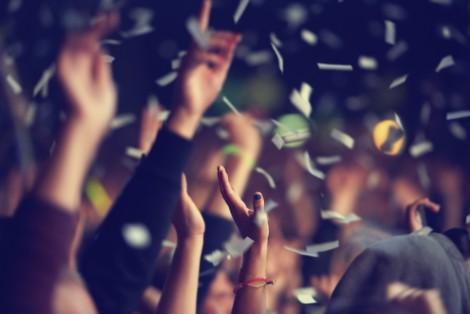 Fête, Festival, Confettis