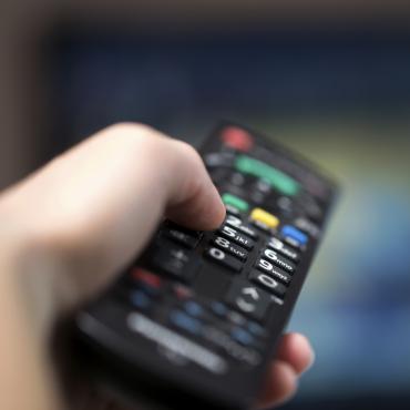 télécommande de téléviseur