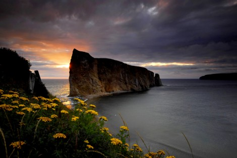 Landscape, Percé Rock