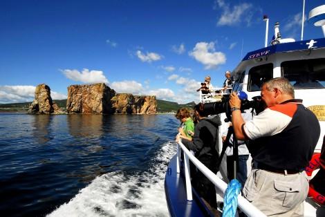 Excursion en mer