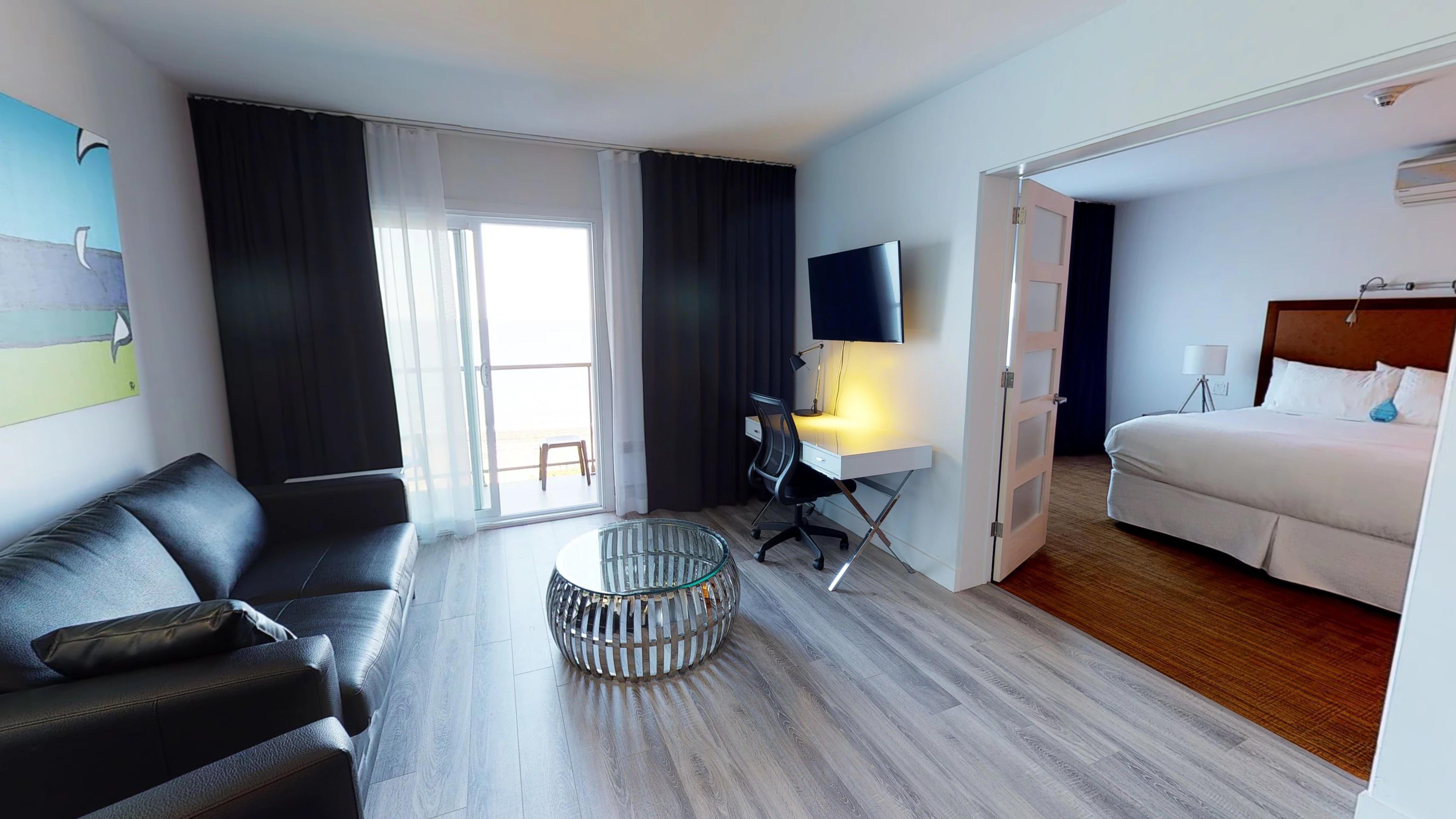 Separation Salon Chambre Studio comfort studio – seaside hotel, matane   riôtel